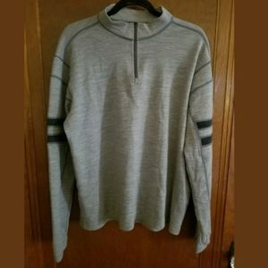 Kuhl 1/4 Zip Gray Pullover Size XL